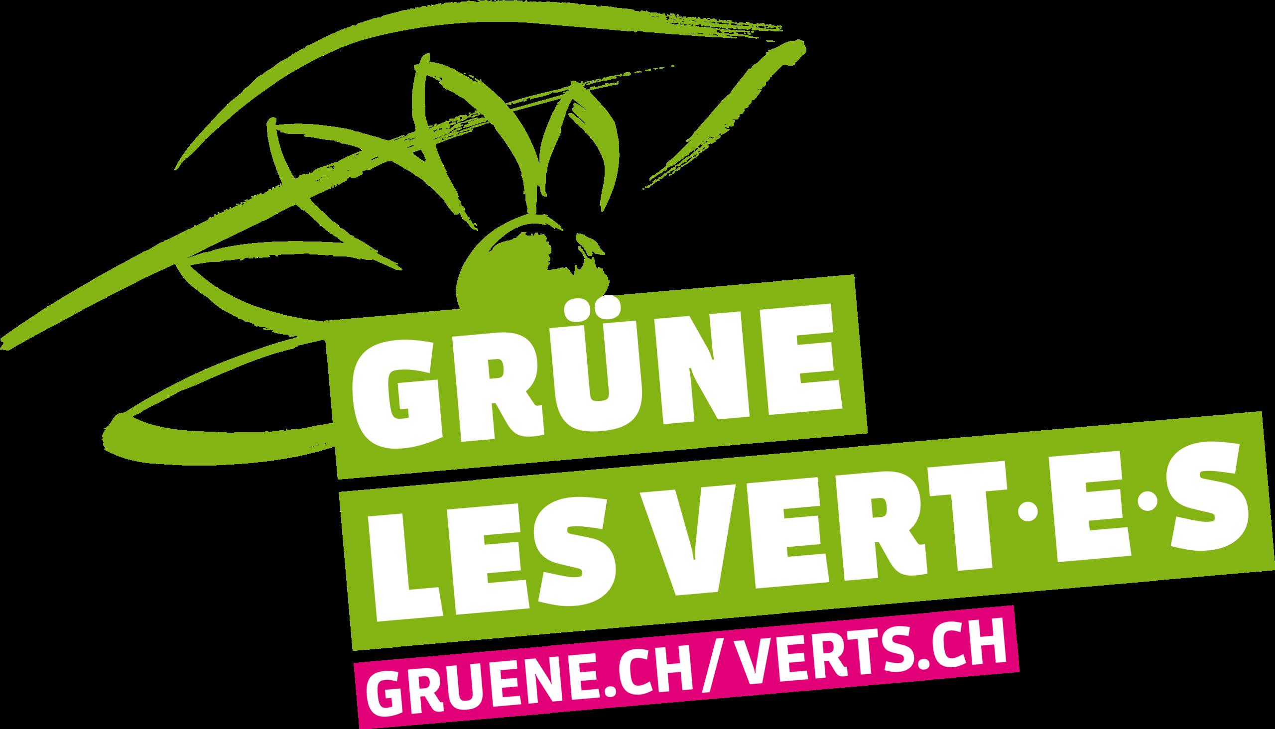 Logo GRÜNE Les VERT-E-S